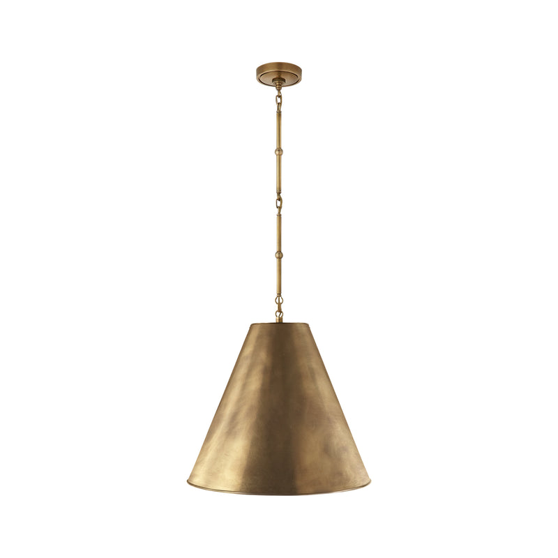 Goodman Medium Hanging Light - Brass
