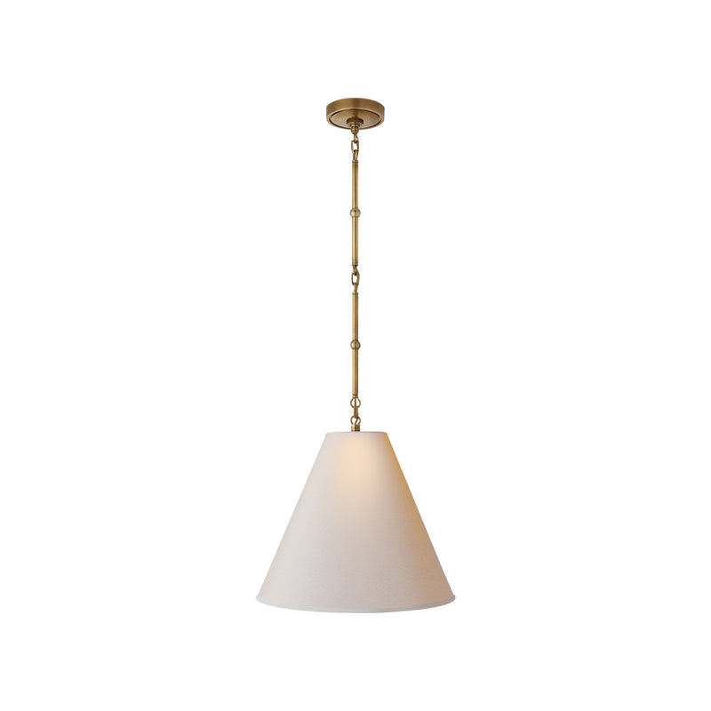 Goodman Small Hanging Light - Brass/Natural