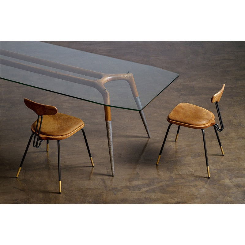 Flux Dining Chair - Fumed