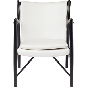 Ace White Armchair