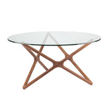 Star Dining Table Walnut