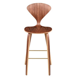 Satine I Walnut Stool