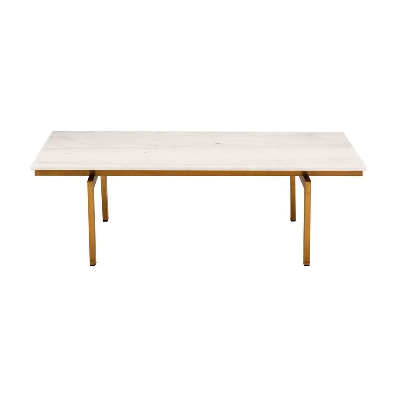 Halles White Coffee Table