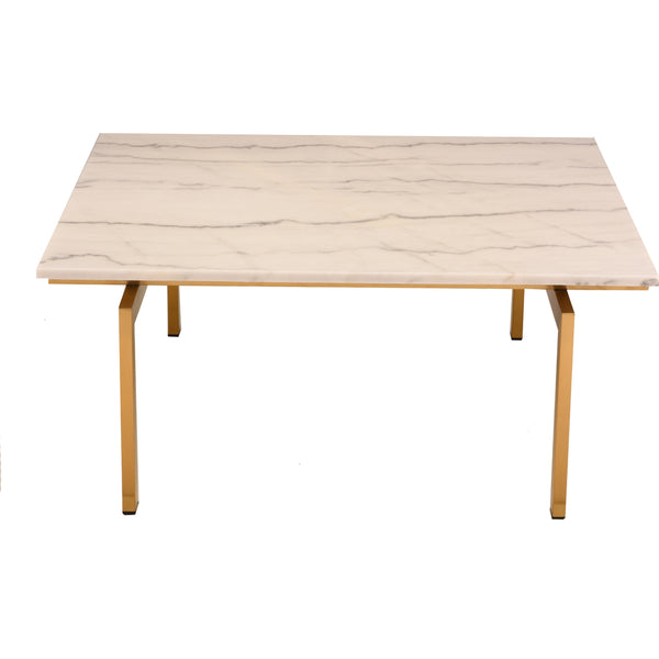 Marais Square Coffee Table White