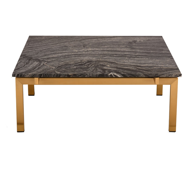 Marais Square Coffee Table Black