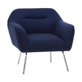 Britta Armchair Navy Blue