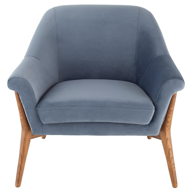 August Dusty Blue Chair