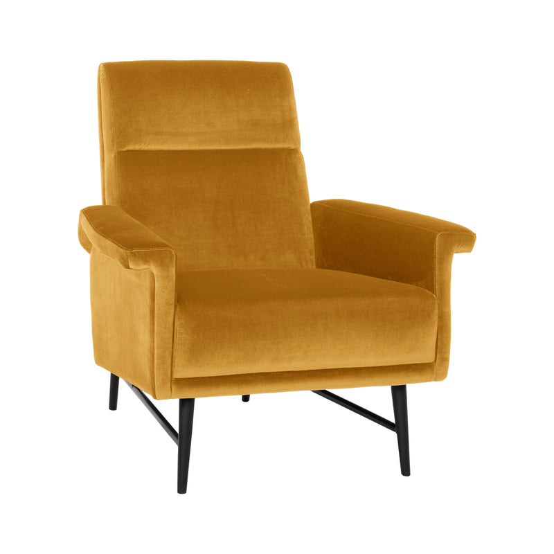 Morgan Mustard Armchair