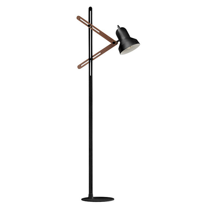 Jasper Black Floor Lamp