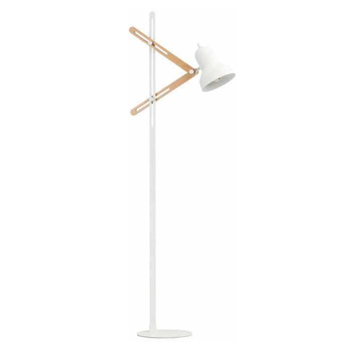 Jasper White Floor Lamp