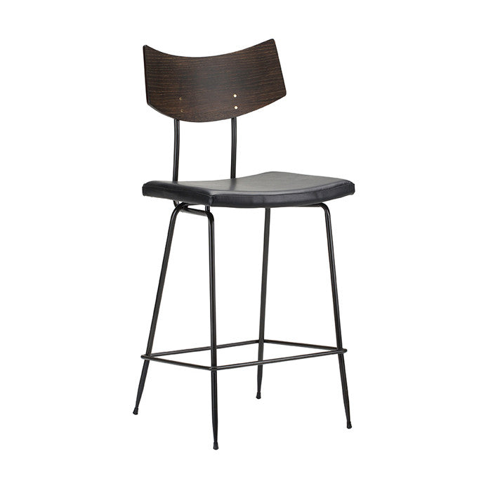 Soli Counter Stool Black