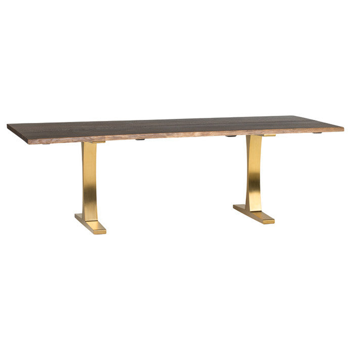Toulouse Boule Dining Table - Gold