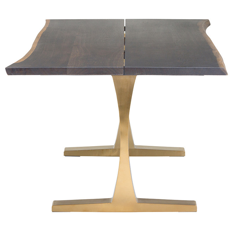 Toulouse Boule Dining Table Gold
