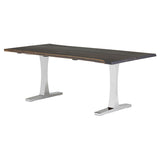 Toulouse Boule Dining Table - Silver