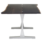 Toulouse Boule Dining Table Silver