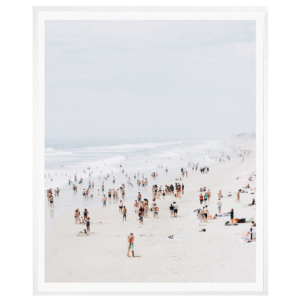 Huntington Beach Love Framed Print