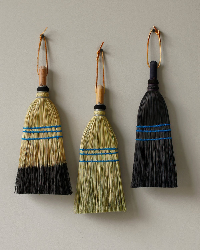 Whisk Broom - Black Tipped