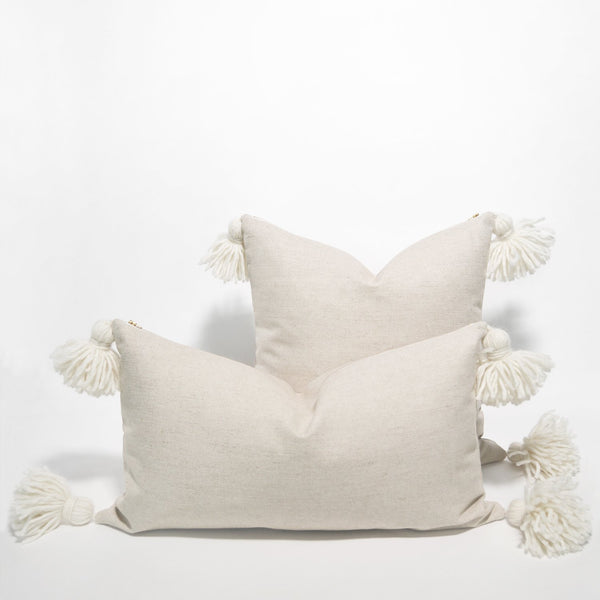 Happy Tassel Pillow