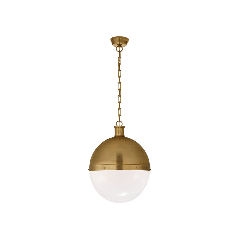 Hicks Extra Large Pendant - Brass