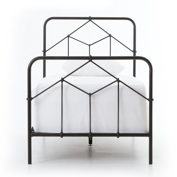 Sicily Bed - Black Twin