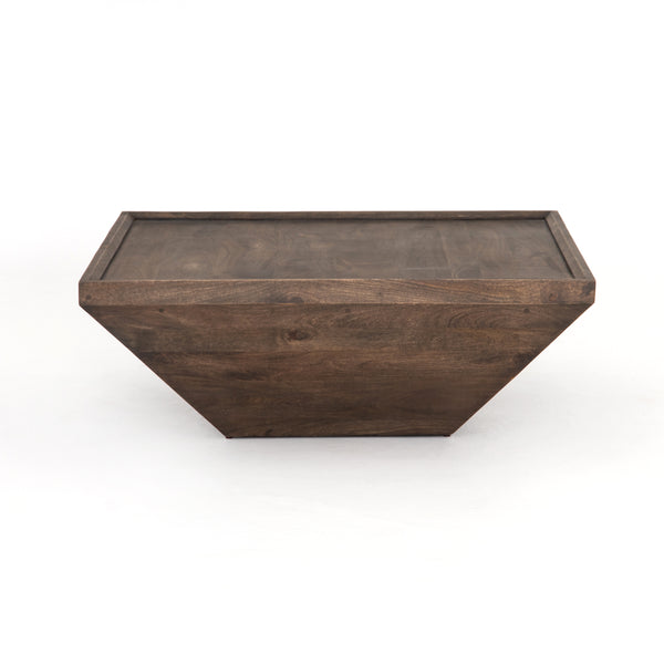 Aubrey Coffee Table - Aged Brown