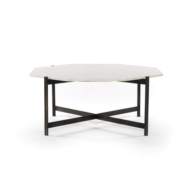 Amber Coffee Table - Hammered Grey