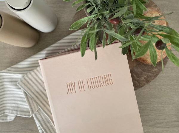 Joy Of Cooking Book - Natural Vachetta