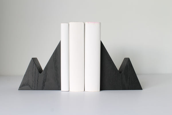 Mount Leclair Bookends - Black