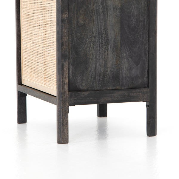Robertson Nightstand - Black Wash