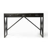 Gotham Iron 3 Drawer Desk