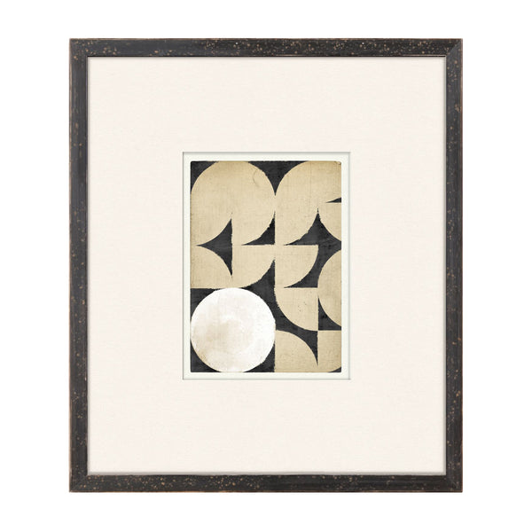 Geometry Lessons IV Framed Print