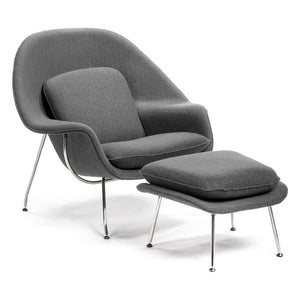 Cocoon Lounge Chair Grey