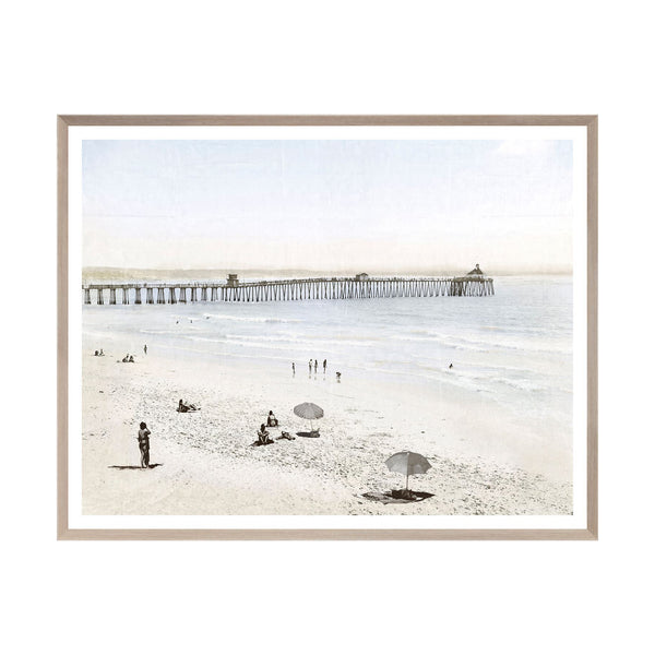 Imperial Beach Framed Print