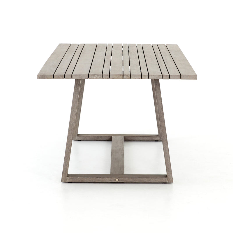 Featherston Outdoor Dining Table - Grey