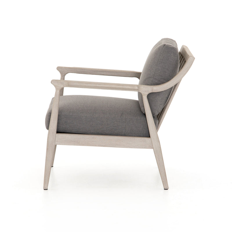 Springhurst Grey Outdoor Chair - Charcoal