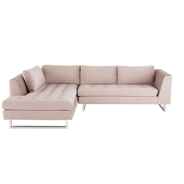 June Sectional Blush