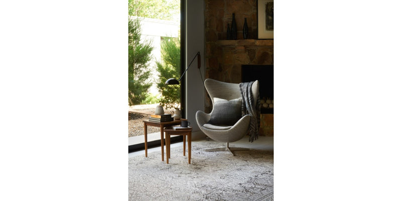 Kingston Ivory/Grey Rug