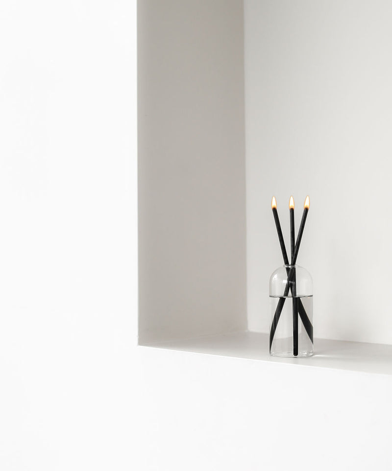 Aidan Everlasting Candle - Black