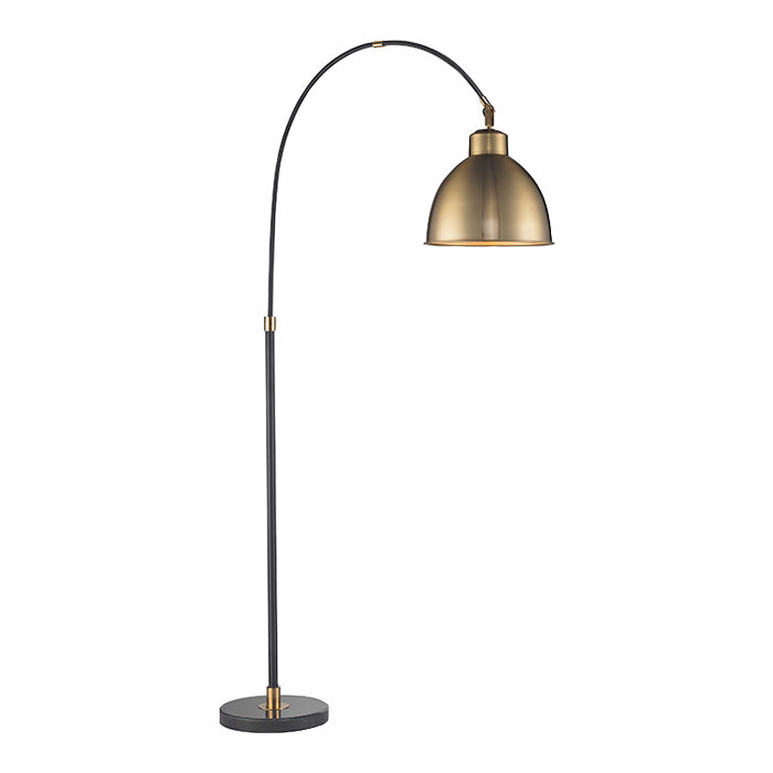 Brass Bell Floor Lamp