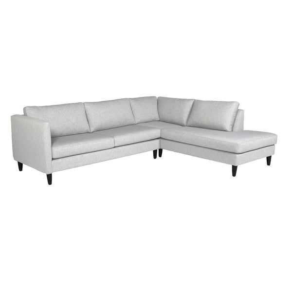 Piper Custom Chaise Sectional Loveseat RHF