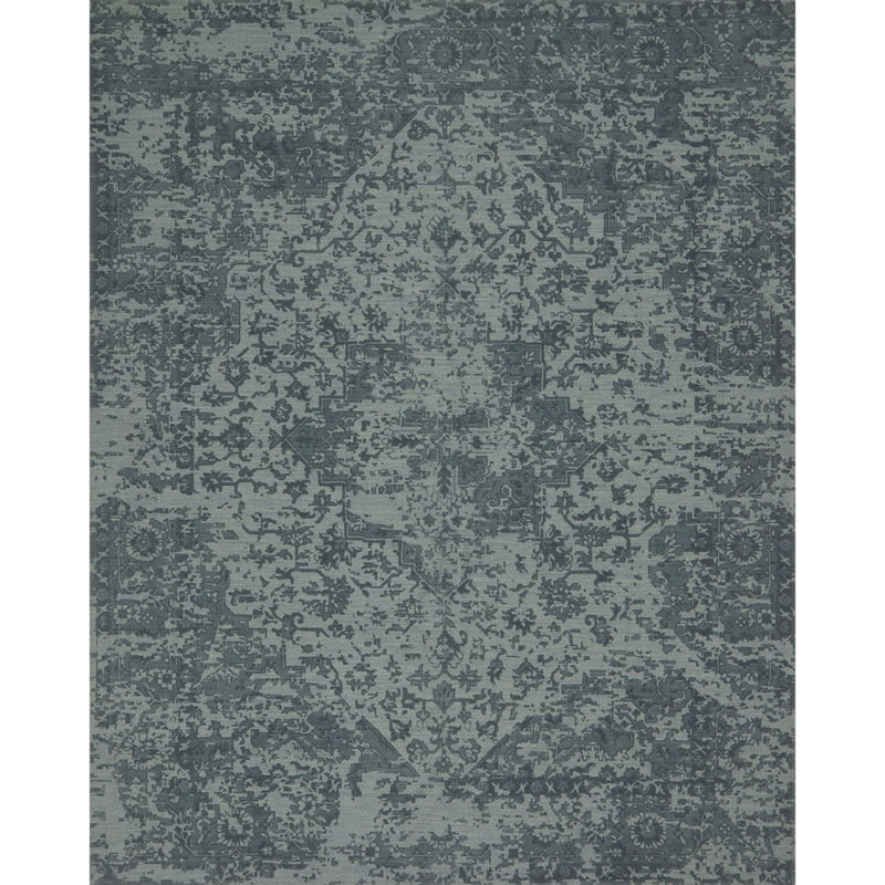 Lily Park Teal Rug