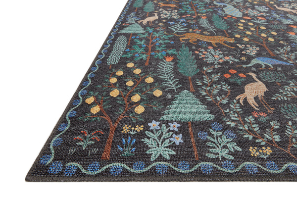 Menagerie Forest Black Rug
