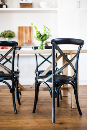 Xavier Dining Chair in Black