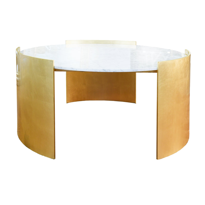 Pete Coffee Table - Gold