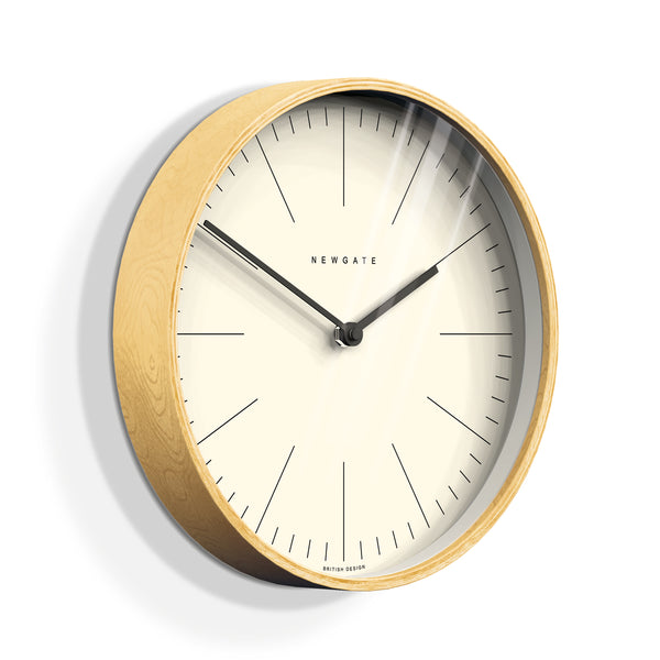 Mr. Clarke Wall Clock - White
