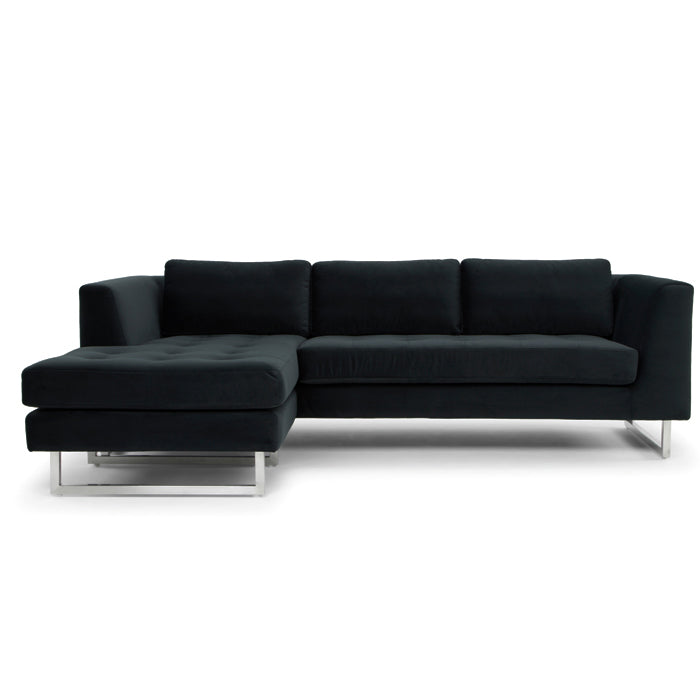 Teo Sectional Shadow Grey