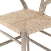 Meeka Stool - Weathered Teak