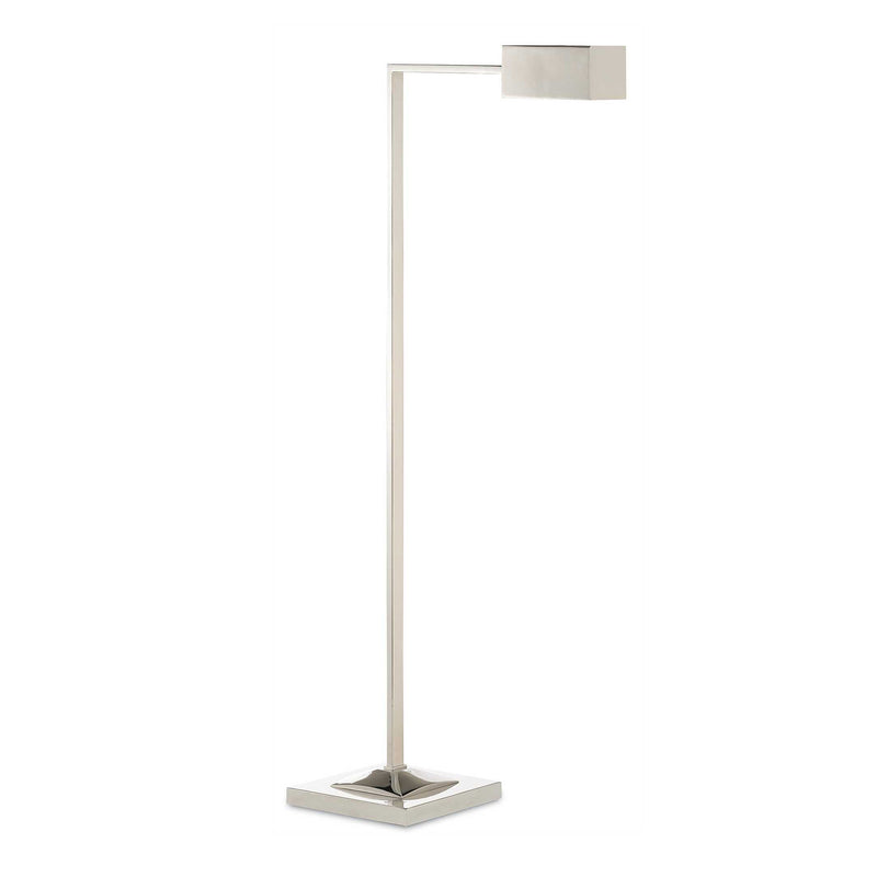 Meghan Floor Lamp - Nickel