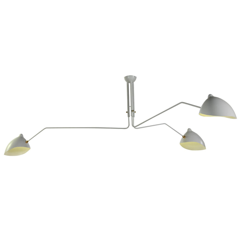 Fly Trap White Ceiling Mount Lamp