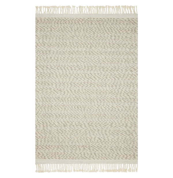 Myra White/Natural Rug